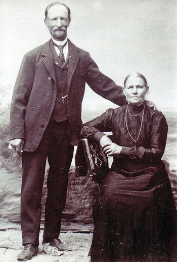 Bengt Sjöberg and his wife Anna